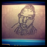 Etch-A-Sketch Art:: Me by BlvqWulph
