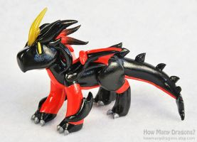 Commission: Mini Predaking by HowManyDragons