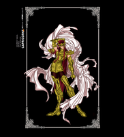 Saint Seiya Oc- Capricorn no Aegidius by DarkLordLuzifer