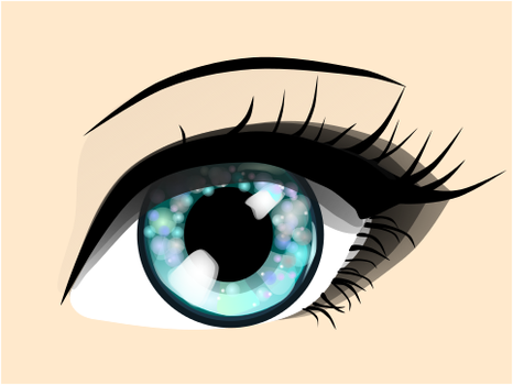 Just Another Vector Eye by SpectralHeart