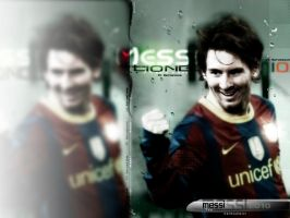 lionel Messi Fc Barcelona by mynameleroi
