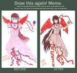 before and after - MagicalGirl by hiei14