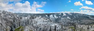 Crystal Basin Pano by Caitiekabob