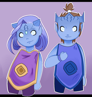 Draenei Children by xAlalax