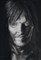 Norman Reedus by astrogoth13