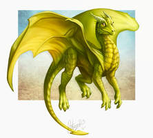 Rejected Dragon by FlyQueen