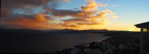 Bariloche Sunrise - Pano 7 by LLukeBE