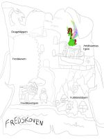 Make Map of Fredskoven by daylover1313