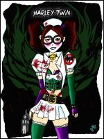 Harley Twin by Jas656