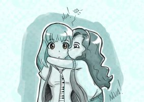 Kiss to Miros by Almiux19