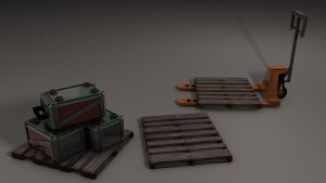 Low Poly Props Set 1 by 100SeedlessPenguins