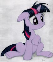 Twilight Sparkle - Color by MintBronyCrunch