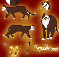 Specklenose Reference Sheet by CYB3R-PUNK