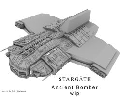 Ancient Bomber wip 2 by Mallacore