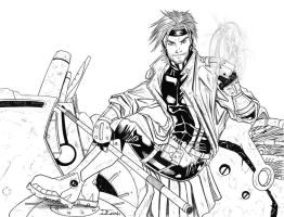 Gambit ink by ELOart