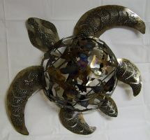 Scrapshell Sea Turtle by Angi-kat
