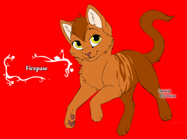 Firepaw by Wanderisawesome