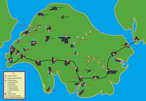 RWS Isle Of Sodor Map (Circa 1997) by TheAusterityEngine