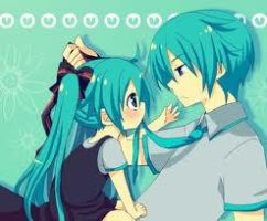 mikuo and miku hatsune by sunny13333