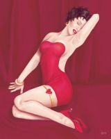 Betty Boop Marilyn Monroe by femjesse