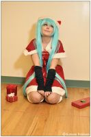 Vocaloid: Waiting For Santa by CosplayerWithCamera