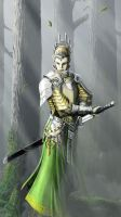 elven guard by Pandarice