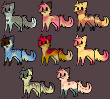 Cat Pointable Set by IGL-Adoptables