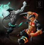 rhardozed: Sulab vs Salakay by rhardo