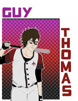 83rd Street Gang: Guy Thomas by LuckyRoulette