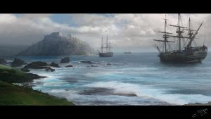 Matte painting 2 by Hillswood