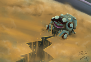 Seismitoad used EARTHQUAKE by PyroFishies