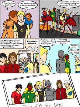 Avengers: Pym Family Reunion by magickmaker