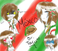 Mexico's Expressions by XVoiceOfDreamsX
