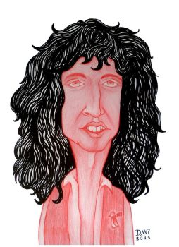 Brian May by danihorse