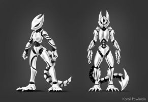 Robot Squirrel Concept 05 by KP-ShadowSquirrel