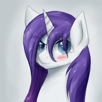 Rarity Wet - Quick - by Muffinsforever