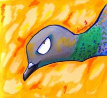 Sexy Pigeon by IcebergLonely