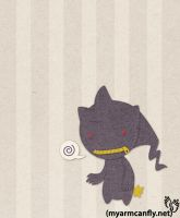 Lil' Banette by myarmcanfly