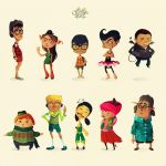 Characters 1-10 by pyrotensive