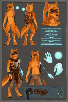 Character ref sheet by Nahysuh