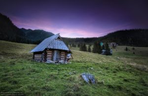 Evening in the Tatras by Vint26