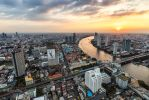 .:Chao Phraya River Sunset:. by RHCheng