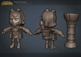 League of Legends: Tristana by MissMaddyTaylor