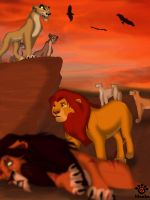 Simba's reign by Mayshha