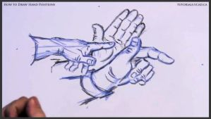 Learn how to draw hand positions 014 by drawingcourse