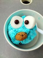 Cookie Monster by byhisownsin