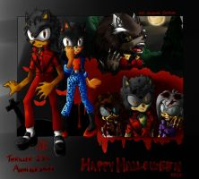 Happy Halloween 2013 (Thriller 25th) by MJSonic1993