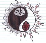 Yin Yang: Fire and Water by EnderTrouble