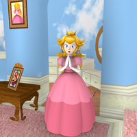 Mushroom Kingdom Adventure - Peach's Bedroom by Vinfreild