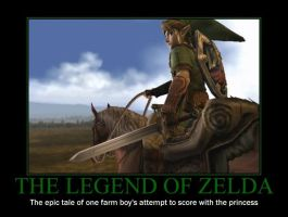 The Legend of Zelda by AwesomenessDK
